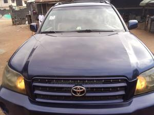 Toyota Highlander 2004 Blue | Cars for sale in Lagos State, Alimosho