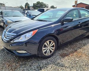 Hyundai Sonata 2012 Blue | Cars for sale in Lagos State, Yaba