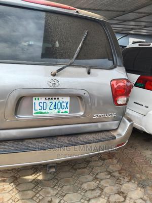 Toyota Sequoia 2002 Gray | Cars for sale in Ogun State, Ado-Odo/Ota