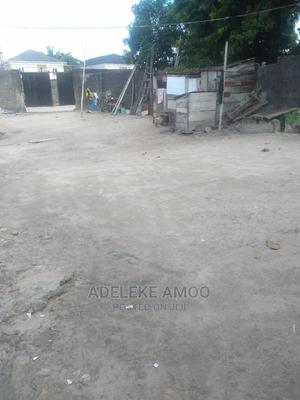 One Plot of Dry Land With 3 Bedroom Uncompleted Building For Sale | Land & Plots For Sale for sale in Ajah, Ado / Ajah