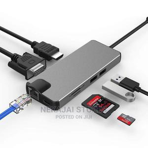 8 in 1 USB Type C Hub | Computer Accessories  for sale in Lagos State, Surulere