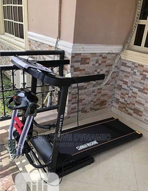 2hp German Machine Treadmill With Massager | Sports Equipment for sale in Lagos State, Ikoyi