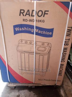 New Quality Radof Washing Machine 10kg One Year Warranty | Home Appliances for sale in Lagos State, Maryland