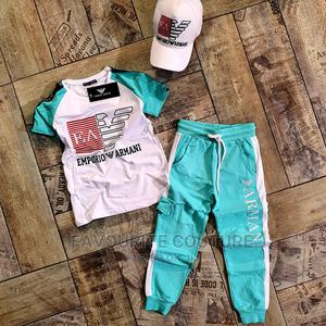 Quality Emporio Armani Up and Down Set   Children's Clothing for sale in Rivers State, Oyigbo