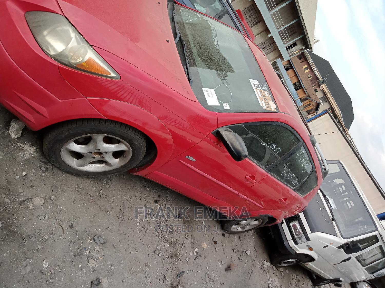 Pontiac Vibe 2005 1.8 AWD Red   Cars for sale in Apapa, Lagos State, Nigeria