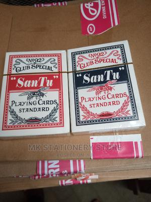 Standard Playing Cards for Adults and for Magic   Books & Games for sale in Lagos State, Lagos Island (Eko)