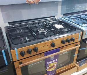 MAXI Gas Cooker 5 Borners Wooden Type | Kitchen Appliances for sale in Lagos State, Ilupeju