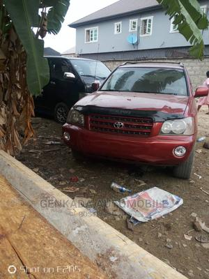 Toyota Highlander 2003 Red | Cars for sale in Lagos State, Kosofe