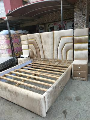 6 by 6 Padded Bed Frame | Furniture for sale in Lagos State, Ojo