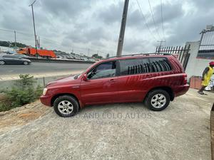 Toyota Highlander 2001 3.0 Red | Cars for sale in Lagos State, Ikeja
