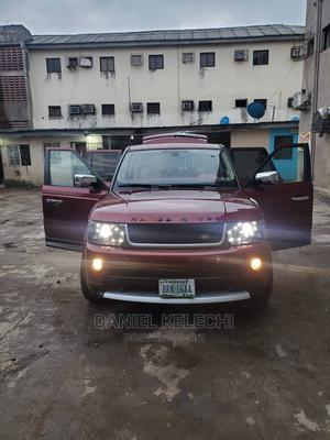 Land Rover Range Rover Sport 2009 HSE 4x4 (4.4L 8cyl 6A) Red   Cars for sale in Lagos State, Amuwo-Odofin