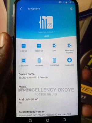 Tecno Camon 15 Premier 128 GB Green | Mobile Phones for sale in Lagos State, Ajah