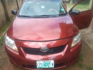 Toyota Corolla 2009 Red | Cars for sale in Abuja (FCT) State, Lugbe District