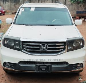 Honda Pilot 2012 White | Cars for sale in Lagos State, Ipaja