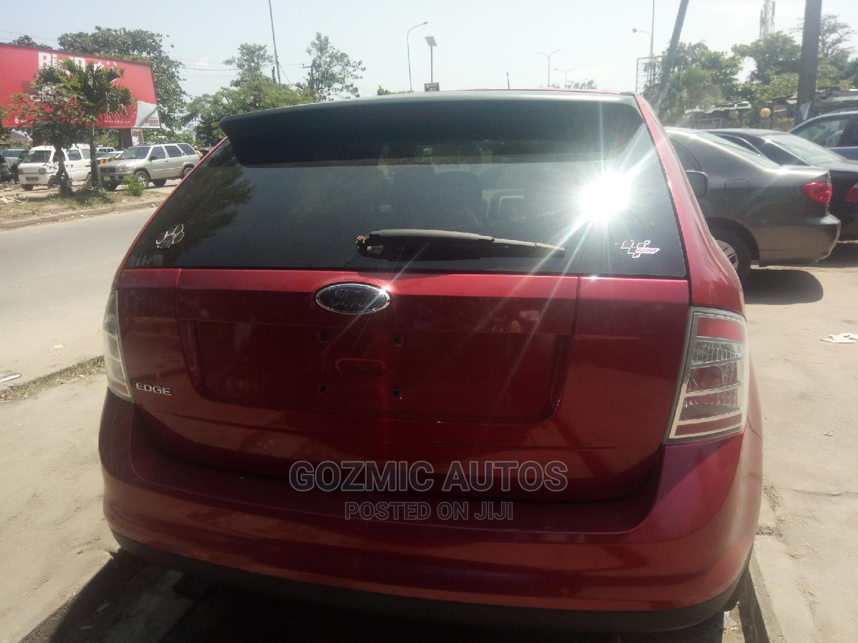Ford Edge 2008 Red | Cars for sale in Amuwo-Odofin, Lagos State, Nigeria