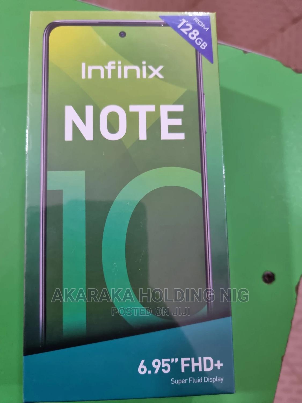 New Infinix Note 10 128 GB Black