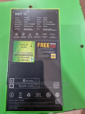 New Infinix Hot 10i 128 GB Black   Mobile Phones for sale in Kaduna State, Kaduna / Kaduna State