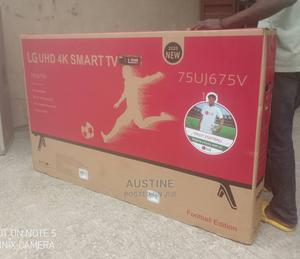 Brand New LG 75inches Smart 4K, Wi-fi,Netflix,UHD,Television   TV & DVD Equipment for sale in Lagos State, Ojo