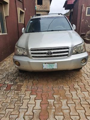 Toyota Highlander 2003 Silver   Cars for sale in Ogun State, Obafemi-Owode