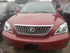 Lexus RX 2009 350 XE 4x4 Red | Cars for sale in Lagos State, Apapa