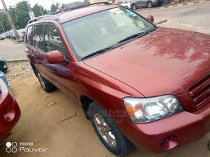 Toyota Highlander 2004 Red   Cars for sale in Lagos State, Amuwo-Odofin