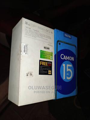 Tecno Camon 15 64 GB Black | Mobile Phones for sale in Ondo State, Akure