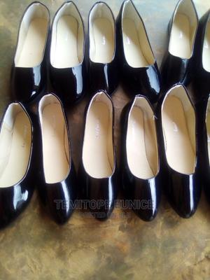 Quality Flat Black Shoes   Shoes for sale in Osun State, Ife