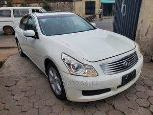 Infiniti G35 2008 Sport RWD White | Cars for sale in Lagos State, Ikeja