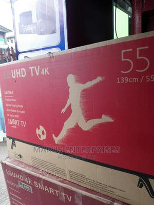 Lg 55 Inches Led Smart Uhd Tv | TV & DVD Equipment for sale in Lagos State, Ajah