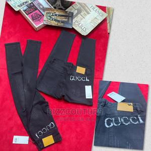 High Quality GUCCI Black Jeans Available for Sale | Clothing for sale in Lagos State, Ajah