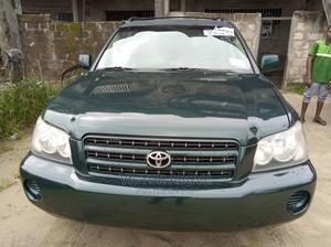 Toyota Highlander 2004 Base AWD Green   Cars for sale in Delta State, Warri