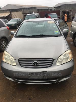Toyota Corolla 2003 Sedan Automatic Gray | Cars for sale in Lagos State, Ikorodu