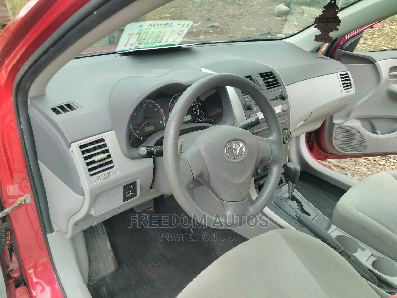 Toyota Corolla 2009 Red | Cars for sale in Asokoro, Abuja (FCT) State, Nigeria