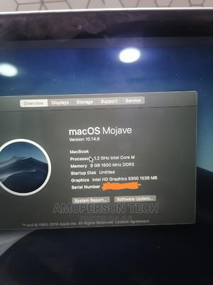 Laptop Apple MacBook 2015 8GB Intel Core M SSD 512GB   Laptops & Computers for sale in Lagos State, Ikeja
