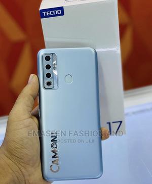New Tecno Camon 17 128 GB Silver | Mobile Phones for sale in Enugu State, Enugu