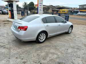 Lexus GS 2007 300 Automatic Silver | Cars for sale in Lagos State, Isolo