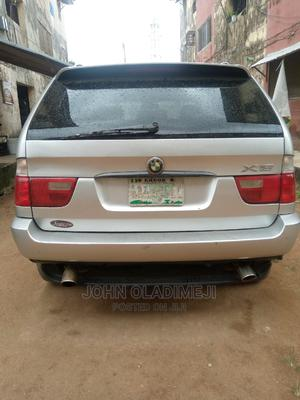 BMW X5 2002 3.0i Silver | Cars for sale in Lagos State, Alimosho