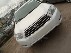 Toyota Highlander 2008 Limited 4x4 White   Cars for sale in Lagos State, Amuwo-Odofin
