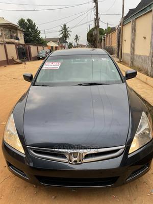 Honda Accord 2007 2.4 Blue | Cars for sale in Lagos State, Abule Egba