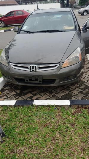 Honda Accord 2007 Coupe EX-L V-6 Automatic Gray | Cars for sale in Lagos State, Ikeja