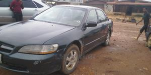 Honda Accord 2001 5P Black | Cars for sale in Lagos State, Ogba