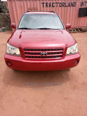 New Toyota Highlander 2003 Base AWD Red   Cars for sale in Anambra State, Awka
