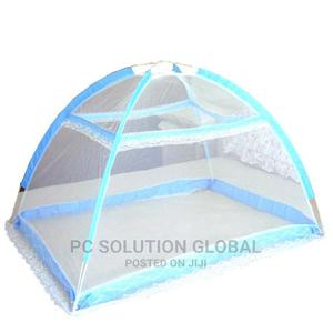 Imported Baby Infant Bed Canopy Mosquito Net Blue With Bag   Children's Gear & Safety for sale in Oyo State, Ibadan