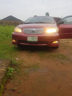 Toyota Corolla 2007 LE Red | Cars for sale in Ogun State, Ado-Odo/Ota