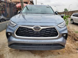 Toyota Highlander 2020 XLE FWD Blue   Cars for sale in Lagos State, Magodo