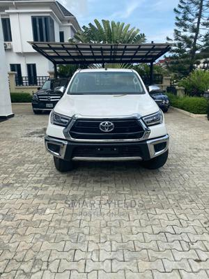 New Toyota Hilux 2021 White   Cars for sale in Abuja (FCT) State, Gwarinpa