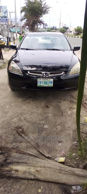 Honda Accord 2005 2.0 Comfort Black   Cars for sale in Rivers State, Obio-Akpor