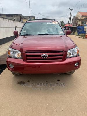 Toyota Highlander 2005 Limited V6 Red   Cars for sale in Lagos State, Amuwo-Odofin