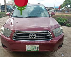 Toyota Highlander 2008 Red | Cars for sale in Lagos State, Ikeja