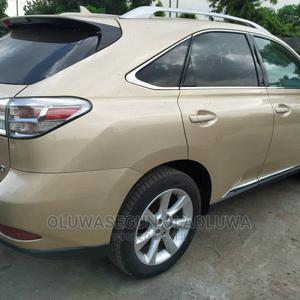Lexus RX 2010 350 Gold | Cars for sale in Lagos State, Ikeja